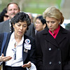 Port Townsend Mayor Michelle Sandoval and Washington State Governor Christine Gregoire<br /> Port Townsend, WA.<br /> 2008