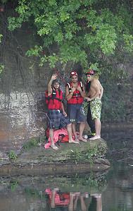 Near Drowning at Elyria Quarry - ElyriaCt