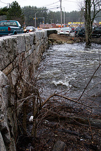 New England Flood of 2007 - Pelham, NH (April 2007)