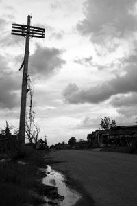 Lower Ninth Ward, One year post hurricane Katrina.