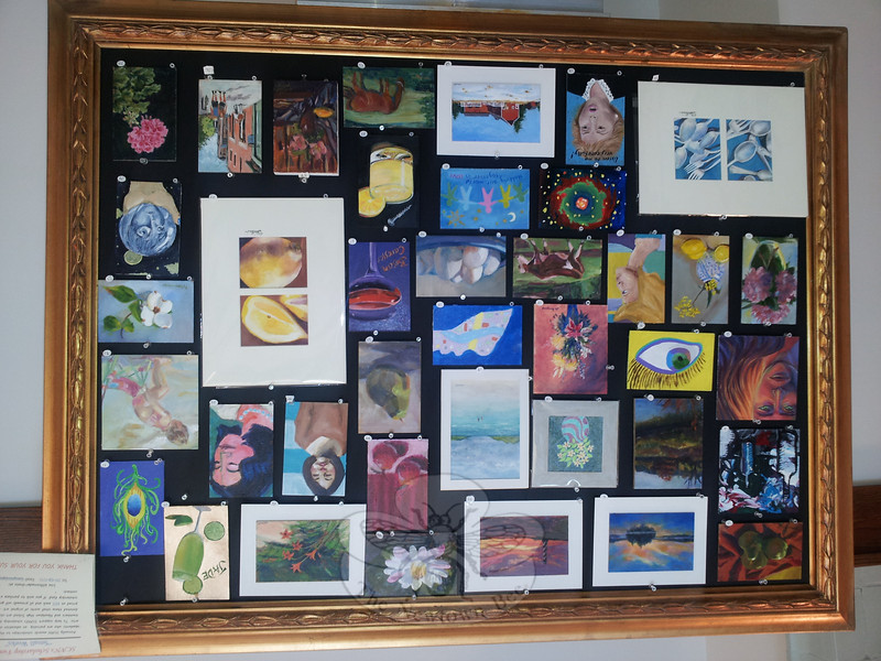 "From the eclectic collection of ""Small Works"" benefiting a local scholarship fund, to dozens of wonderful oils, pastels, watercolors and even three-dimensional works on view within ""The Third Annual Society of Creative Arts of Newtown Summer Art Show,"" this SCAN show is not to be missed. The public is invited to a welcome reception in the main corridor of Newtown Municipal Center at Fairfield Hills on Saturday, July 14, from 2 to 4 pm. The original works created by members of SCAN (as well as Newtown High School students who were invited to create some of the ""Small Works"" will remain on display through July 31.   (Voket photo)"