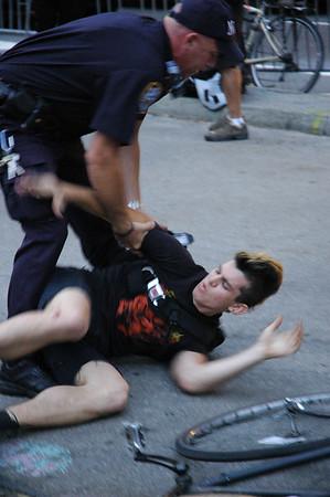 New York arrest / un-arrest July 28, 2007