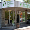 The Big Brothers Big Sisters Donation Center on South Main Street opened in March.  (Crevier photo)