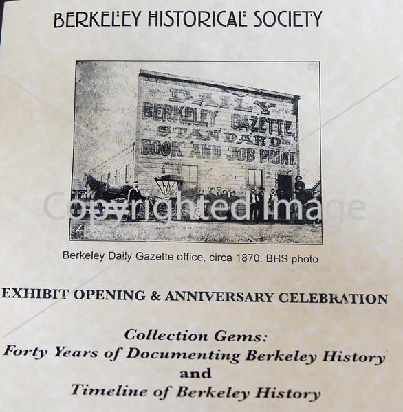 BERKELEY HISTORICAL SOCIETY