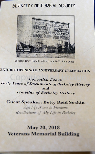 BERKELEY HISTORICAL SOCIETY