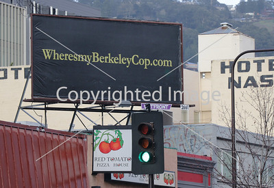 BERKELEY COP BILLBOARD