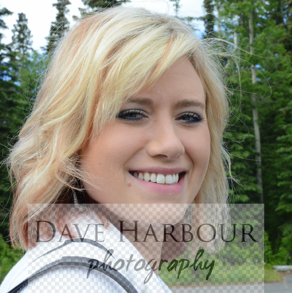 Lindsay Housaman, News Director, Your Alaska Link, 6-17-14, Dave Harbour Photo