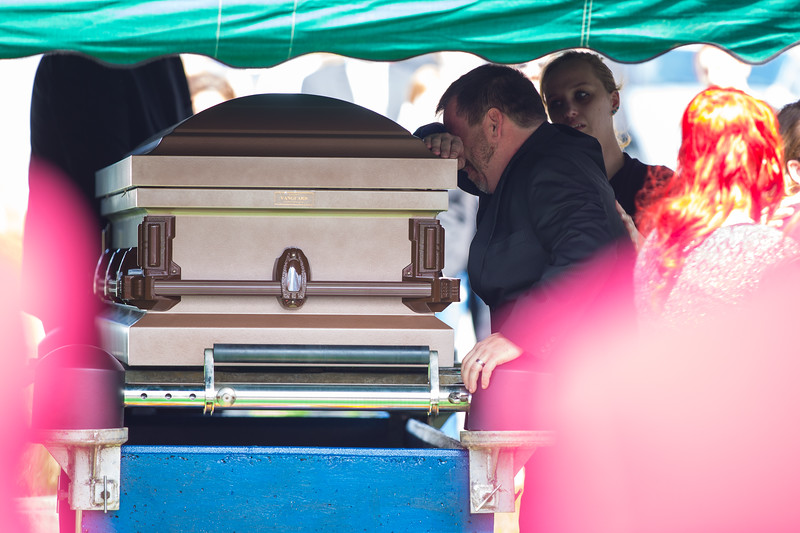 James R. Gustafson, Jr. Funeral