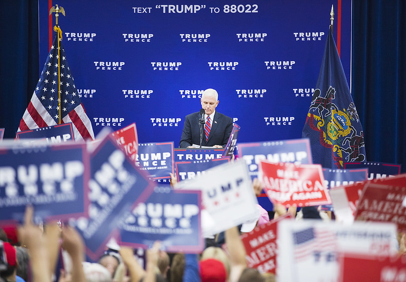 Stumping for Trump