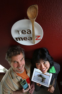 Max Dunn and Connie Kwan are the co-founders of Santa Clara-based RealMealz, a web and mobile-based healthy-eating site.    Silicon Valley-San Jose Business Journal/Dino Vournas