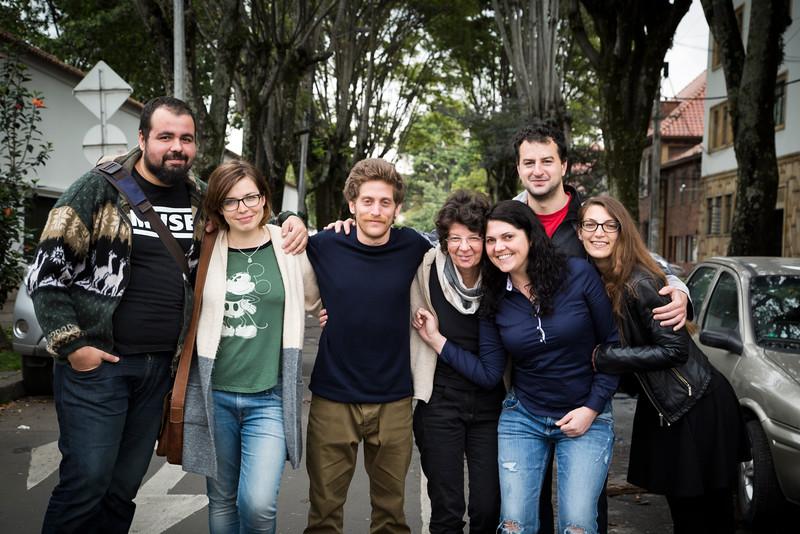 En marzo de 2016 han llegado siete nuevos brigadistas, que se van a integrar en el proyecto de PBI en Colombia.  En estas líneas nos cuentan quiénes son, de dónde vienen y escriben sobre sus primeras impresiones al llegar a Bogotá.