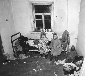 Abandoned children in an abandoned house in Chernobyl Zone. Copyright © Alex Emes