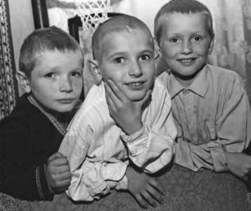 Orphan boys in Ukraine orphanage. Copyright © Alex Emes