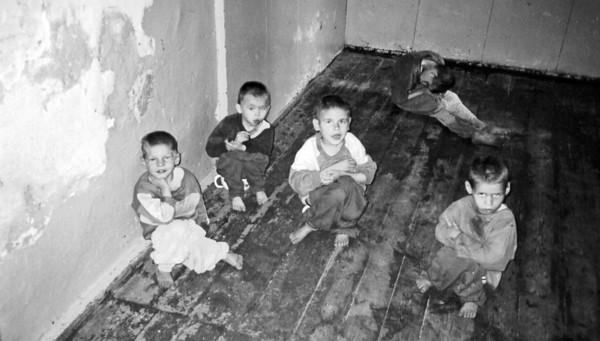 Abandoned children in facility - Eastern Europe. Copyright © Alex Emes