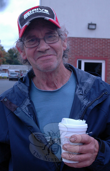 Newtown Bee: What is one thing you wish you could do more often? Larry Cozek: Be younger than I am. (Hallabeck photo)