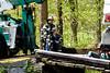 Oil Delivery truck  collapses bridge - Hughsonville Fire District - 5/01/08