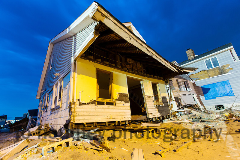 Images from the town of Ortley, after Sandy.