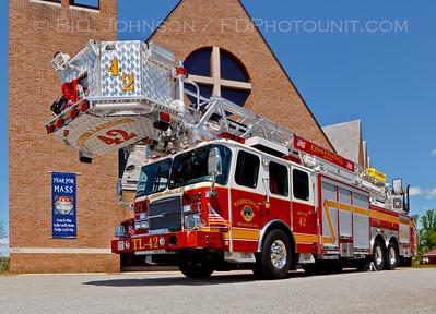 Ossining Truck42 E-One photo shoot
