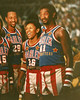 This picture was taken in 1986 when Lynette Woodard played with the Globe Trotters.