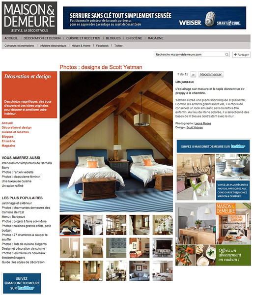 Maison & Demeure online magazine
