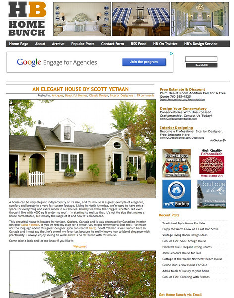 """Home Bunch"" online magazine