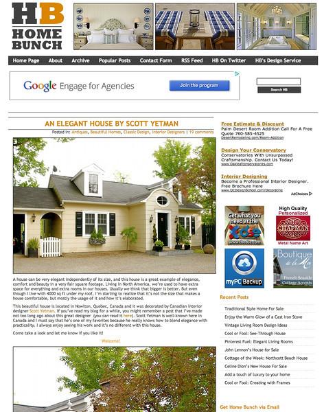 """Home Bunch"" online magazine http://www.homebunch.com/tag/scott-yetman/ All photographs by Leona Mozes"