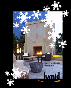 Lumid Firelab Christmas Card 2012 Revel Hotel, Atlantic City