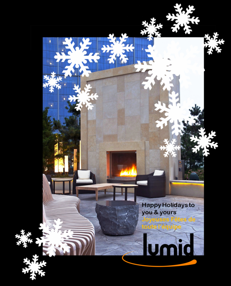 Lumid Firelab Christmas Card 2012