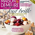Interior photo shoot for House & Home Media.  November 2012 issue of Maison et Demeure.  On newsstands now. Page 15 and 48-52. ___________________________________________________________________________________________________________  Hi Leona,  Just wanted to drop a quick note and say that I saw your work in November's Maison et Demeure. It was really beautiful. Congratulations! I hope I'll see more of your work soon.  Best,   Leila Nathaniel EDITOR & COMMUNITY MANAGER / ÉDITRICE & RÉSEAUX SOCIAUX l.nathaniel@decotheca.com (514) 436-5892