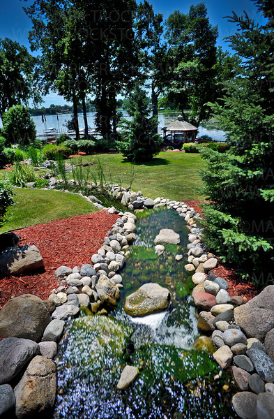 The acreage behind the facility shows the beauty of just one part of Lake Minnetonka Shores careful and creative landscaping, giving residents a spectacular view of Black Lake Bay.