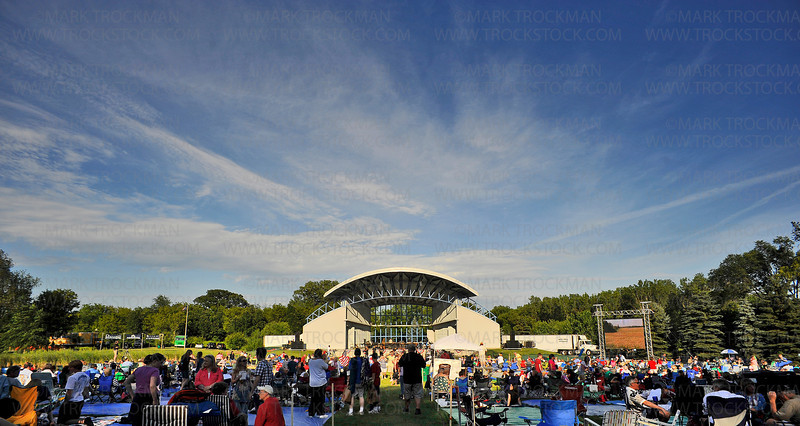 A beautiful blue sky towered over the Hilde Performance Center grounds for the annual Music in Plymouth summer festival Wednesday, June 30.