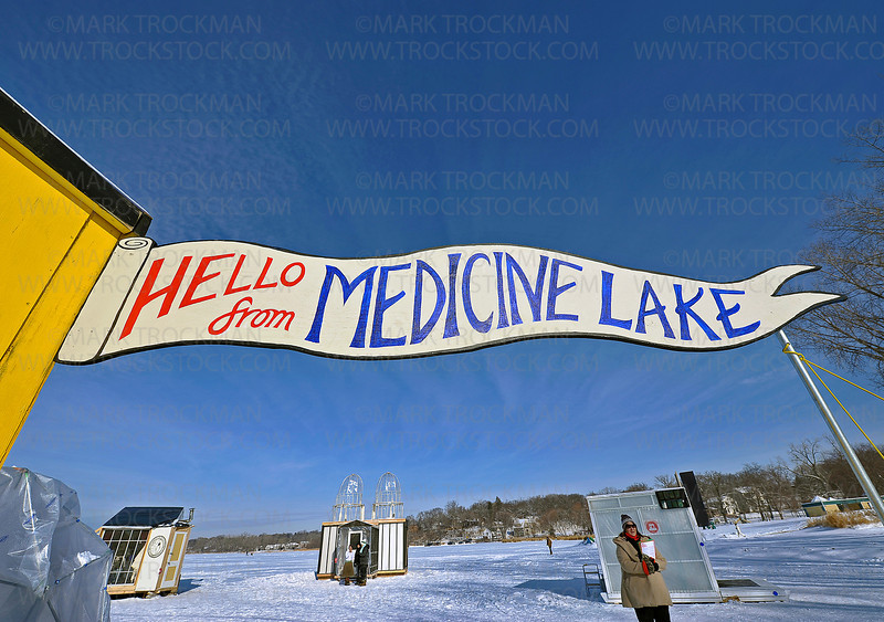 The Art Shanty Projects for 2012 have nearly 20 hand-built shanties on the ice and ready to interact with visitors in myriad ways on Medicine Lake Saturday, Jan 21.  Art Shanty Projects is open weekends, 10am - 5pm, Jan. 14, through Feb 5, 2012.