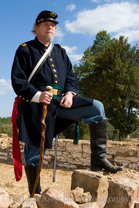 Grand Opening of Bristoe Station Battlefield Heritage Park. Robert Urban portrays William C. Roller, Union Army surgeon. Mr. Urban has been featured on numerous T.V. programs, and demonstrates Civil War era surgical tools on manikins.