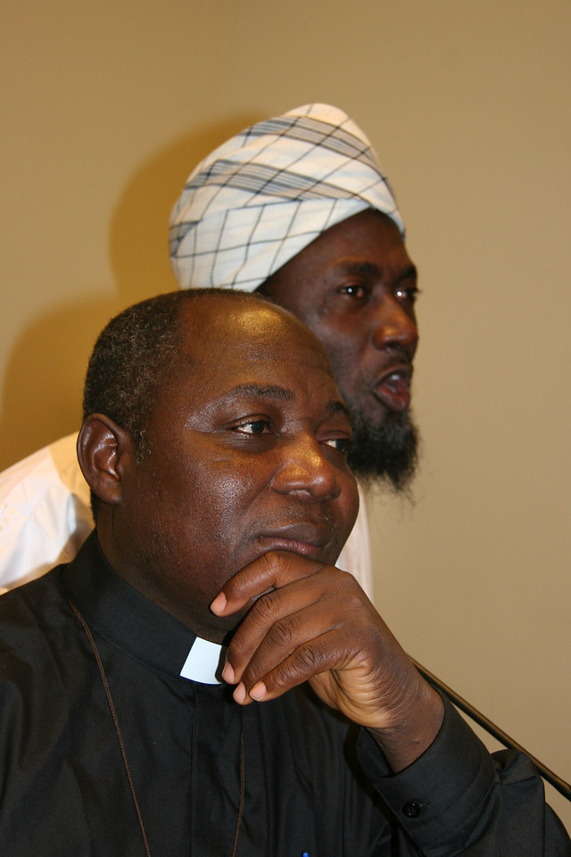 The Iman and the Pastor from Nigeria, former violent enemies now co-creators of a center for reconciliation and peace in West Africa.