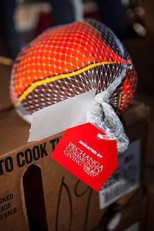 Pechanga Turkey Donation
