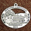 Newtown Woman's Club will begin selling its 2012 Christmas ornament, this year honoring The Red Brick Store, on Monday during the Labor Day Parade. (Hicks photo)