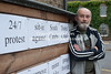Man Lives in Shed in Protest over Planning Issue Cambridgeshire