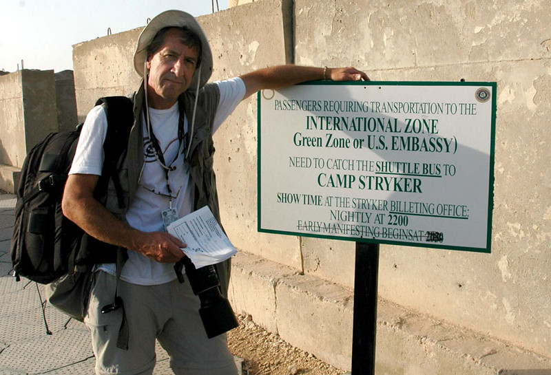 Photo by Spc. Jeremy Anderson<br /> At the Baghdad International Airport, hoping to get out of Dodge on Friday, May 5, 2006.