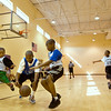 North Greenville takes on the Minges Unit of the Boys & Girls Club of Pitt County starting off a basketball tournament Saturday morning held at the North Greenville facility.