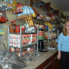 Jill Paterson, RD, Newtown's Resident Dietitian for Chartwells, stands in the new food service option for Newtown High School students, a store called Outtakes.  (Hallabeck photo)
