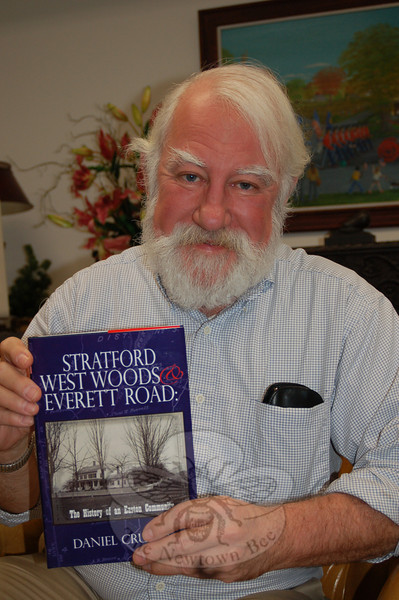 Dan Cruson's newest book takes a look at the Stratford West Woods and Everett Road section of Easton.  (Crevier photo)