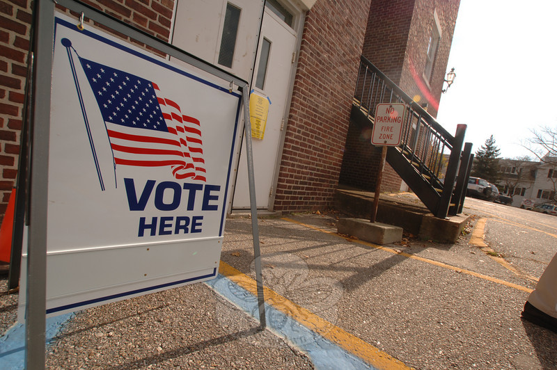 Election Day: Tuesday, November 3, 2009.  (Bobowick photo)