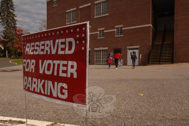 Election Day: Tuesday, November 3, 2009.  (Bobowick photo)