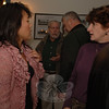 Many of the candidates for this season's municipal elections attended a pre-debate meet and greet Monday night at Edmond Town Hall including Independent Party member Po Murray, left, who is seeking reelection to her Legislative Council seat.  (Bobowick photo)
