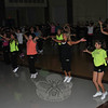 Dozens of Zumba enthusiasts got moving in support of finding a cure for scleroderma during a Master Zumba Class fundraiser held at Reed School on Friday, September 10.  (Crevier photo)