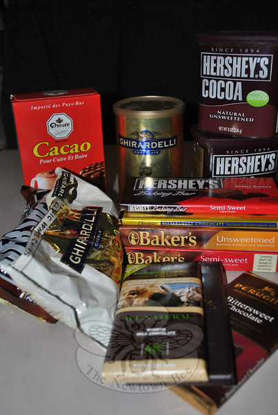 A dizzying selection of different kinds of chocolates can make baking and cooking with chocolate a sometimes confusing experience. Some chocolates substitute nicely, one for the other, while other types are not interchangeable in a recipe.  (Hallabeck photo)