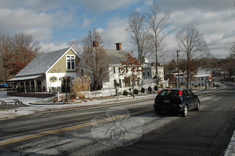 Planning and Zoning Commission (P&Z) members are considering making some revisions to the Sandy Hook Design District (SHDD) zoning regulations in conjunction with the land use agency's ongoing update of the 2004 Town Plan of Conservation and Development.  (Gorosko photo)