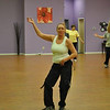 "Z Place For Fitness member Jill Rosenkranz of Newtown, at a recent class, loves the work-out offered by Zumba. ""I've always loved to dance, but I hate exercising. I love Zumba, though,"" says Ms Rosenkranz.  (Crevier photo)"