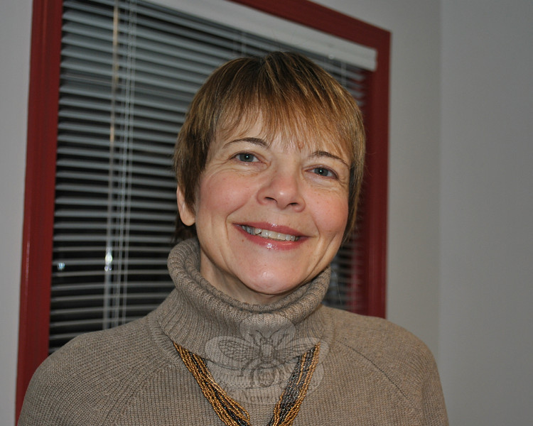 """Sally Feuerberg, who has lived in Newtown for more than 20 years, has one of those jobs that you hear about and go """"Oh really? Neat. Tell me more."""" Find out what she does and learn more about Sally in the January 21, 2011 Snapshot column.  (Crevier photo)"""