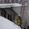 Members of all five local volunteer fire companies responded to an accidental fire that occurred at a residence at the Newtown Village Mobile Home Park at 301 South Main Street late on the afternoon of Friday, January 28.  (Gorosko photo)